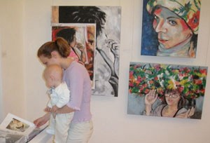 Ausstellung Senica